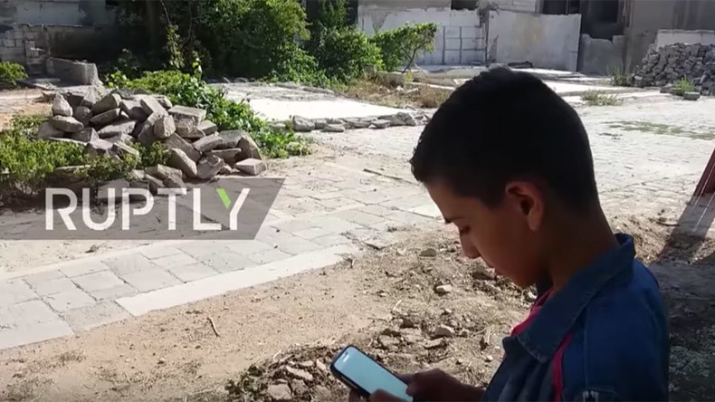 Syrian kids chase Pokémon in war-torn Aleppo (VIDEO)