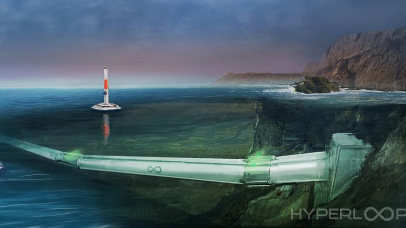 Hyperloop One to take on underwater transport