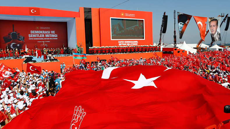 'Gift from God': Erdogan reasserts dominance with huge Istanbul rally