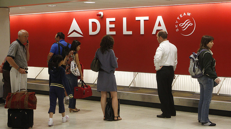 Delta Air Lines grounds flights as computer systems 'down everywhere'