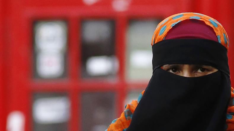 Ban Muslim veil in public places, says UKIP leadership hopeful