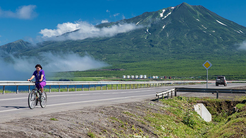 Wanna live on a Pacific volcano? Russians get the itch to go east