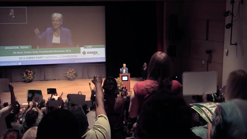 5 best moments from the Green Party convention the MSM didn't cover