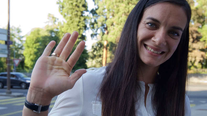 Barred from competing, Isinbayeva heading to Rio to take part in IOC panel elections