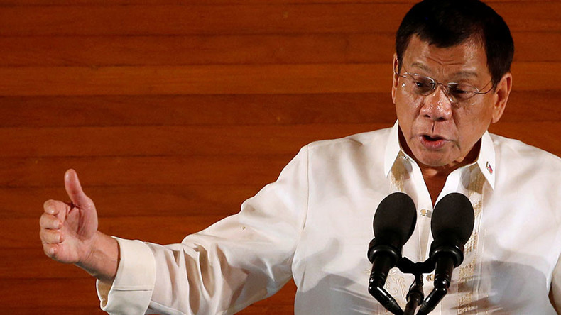 Philippines leader calls US ambassador S.O.B. & gay, Washington demands clarification