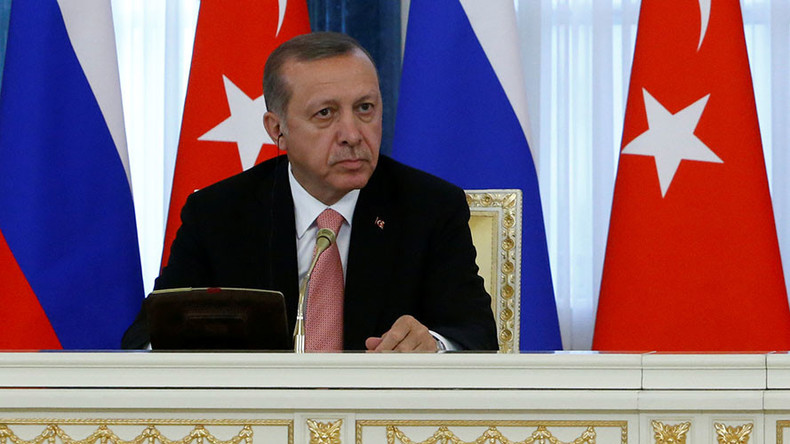 Turkey to transit Russian natural gas to Europe via Turkish Stream pipeline - Erdogan