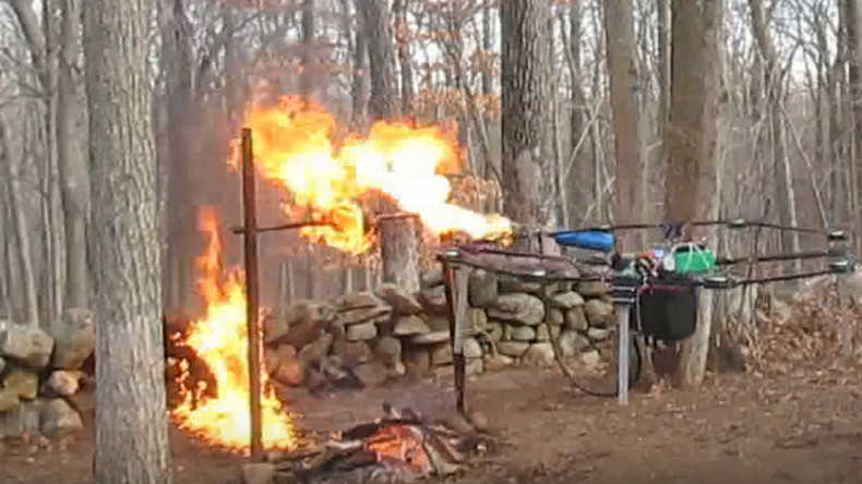 Teenager who rigged flame-throwing drone appears in court to fight expulsion
