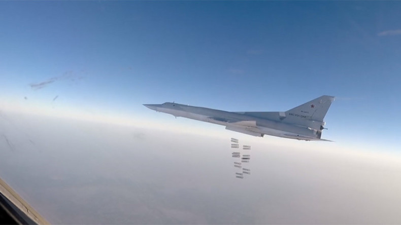 Russian bombers destroy ISIS chemical weapons plant near Raqqa, Syria