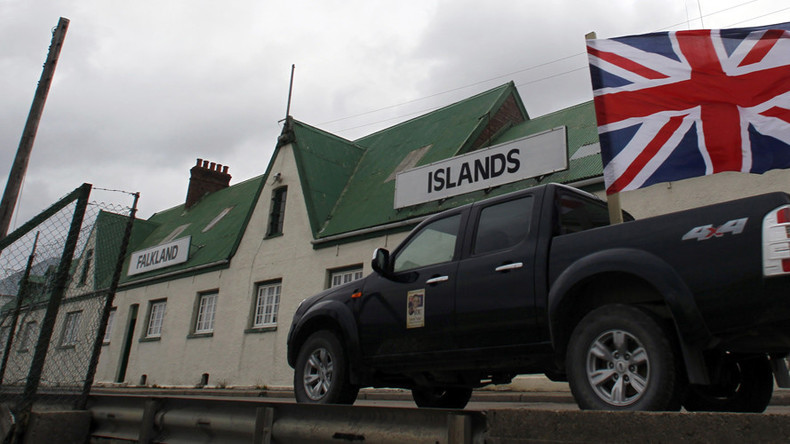 May urges Argentina to allow more flights & oil exploration around disputed Falklands