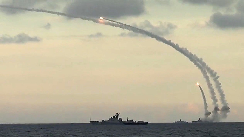Maximum realism: Russian navy drills in Mediterranean & Caspian to simulate 'full battle' conditions