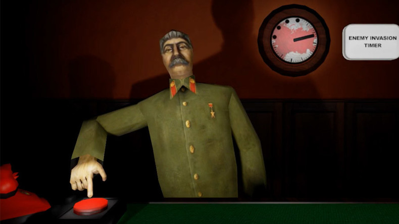 Calm Stalin down or face nuclear Armageddon - gamers given a choice