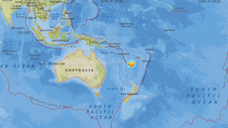 Powerful 7.2 quake strikes Pacific off Vanuatu