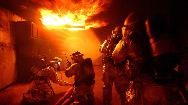 Trailblazers: AI 'guardian angel' guides firefighters through burning buildings