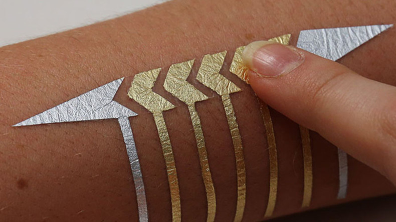 'Connected' ink: Temporary tech tattoos transform skin into user interfaces (VIDEO)