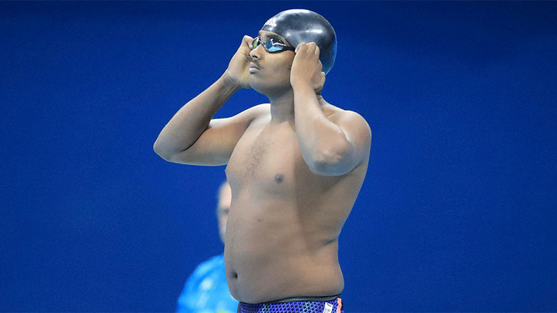 REVEALED: Ethiopian 'whale' swimmer is son of swimming federation boss