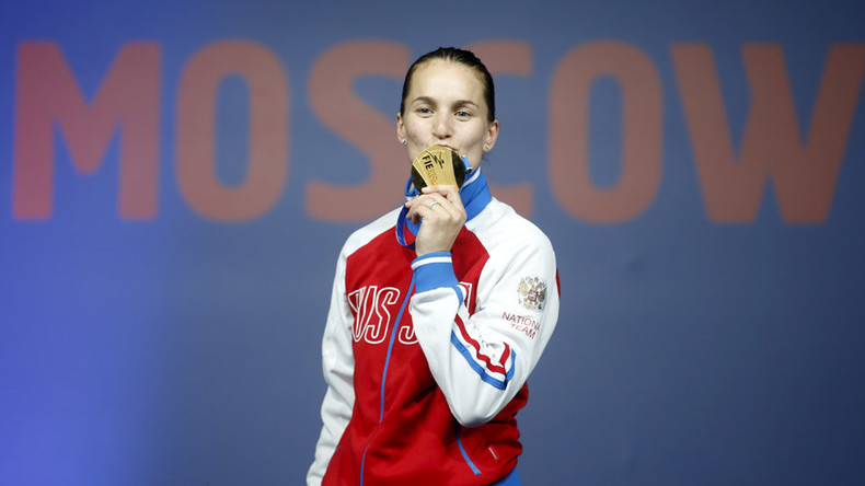 Russian fencer Velikaya becomes Olympic champion and army captain in same week