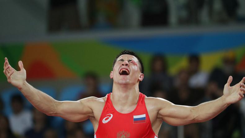 Russia's Vlasov wins Olympic gold in Greco-Roman wrestling