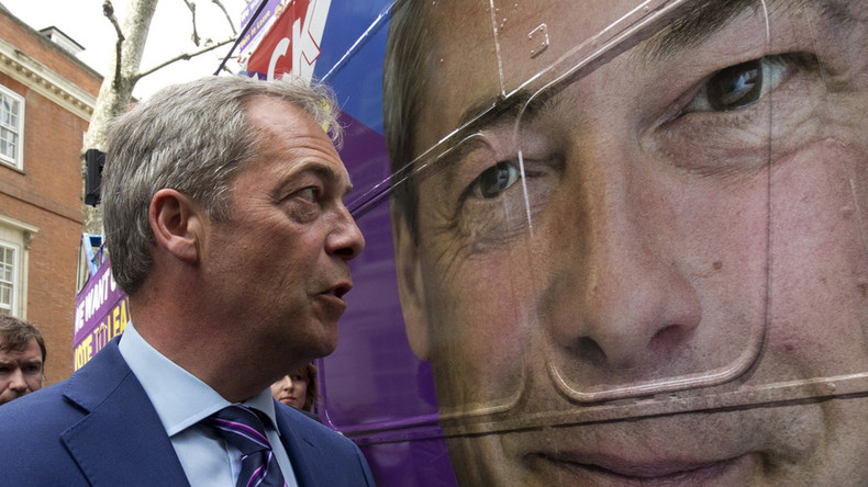 Nigel Farage aide held in US on money laundering, extortion & fraud charges