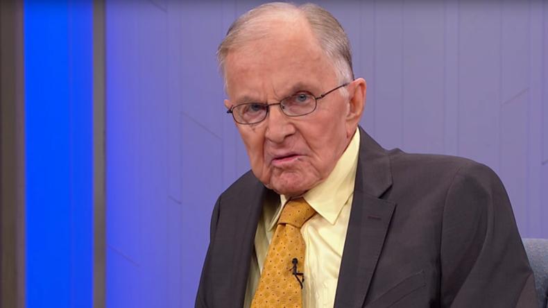 TV host John McLaughlin has died aged 89