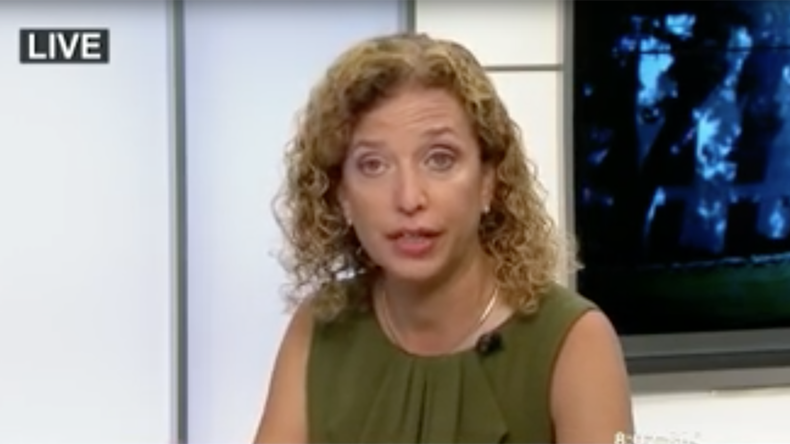 Debbie Wasserman Schultz accidentally boasts about how she worked to make Clinton nominee (VIDEO)