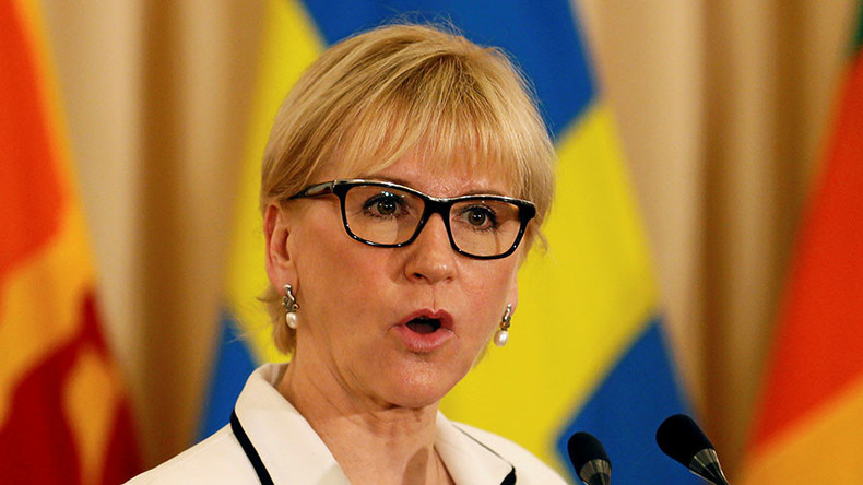 Top Turkish officials lambaste Swedish FM after she implied Turkey allowed sex with minors
