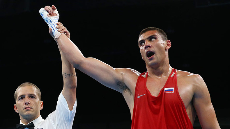 Russian heavyweight boxer Tischenko wins Rio gold