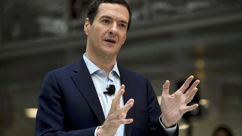Ex-Chancellor Osborne boards the gravy train as $300k-a-time after-dinner speaker