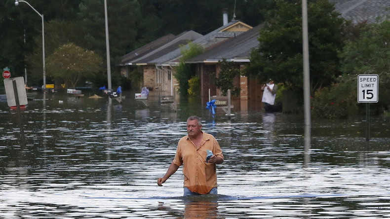 Louisiana flooding: 8 dead, 30k rescued amid '1,000-year' rain
