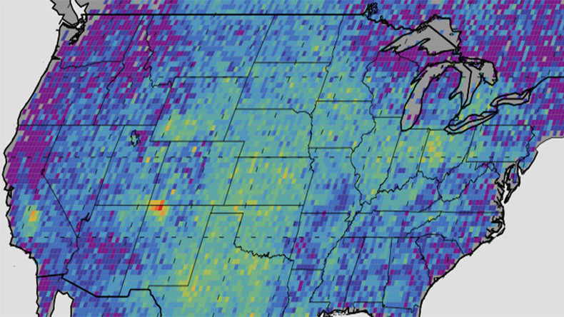 Fracking leaks a major factor in US methane 'hot spot' – NASA