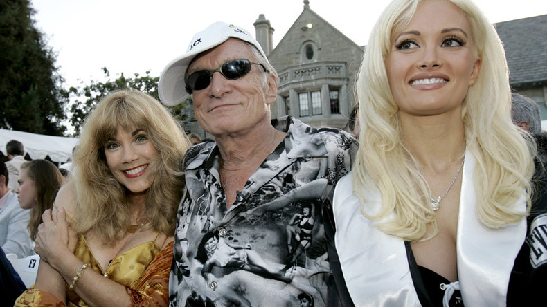 Legendary Playboy mansion sold, but Hef gets to live there until he dies (VIDEO)