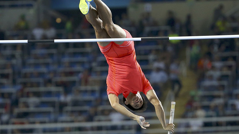 Japanese athlete denies penis was to blame for pole vault downfall