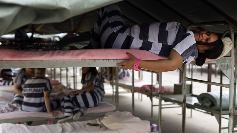 Women are the fastest rising prison population – study