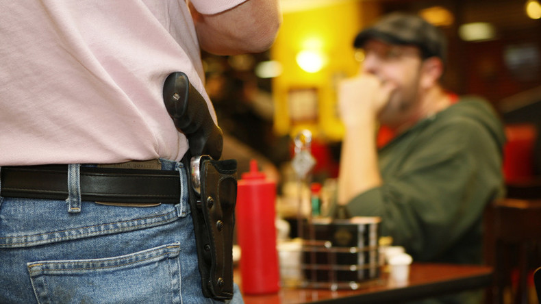The right to openly bear arms: California gun owners challenge open-carry restrictions