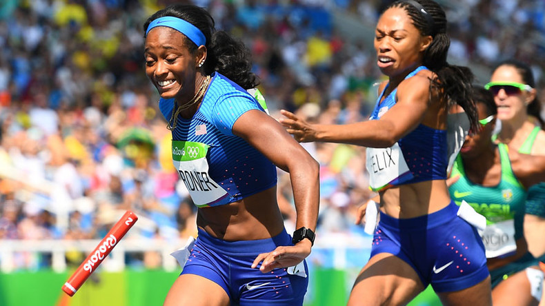 Elbowed? US runners allowed another go at relay qualifier after dropping baton