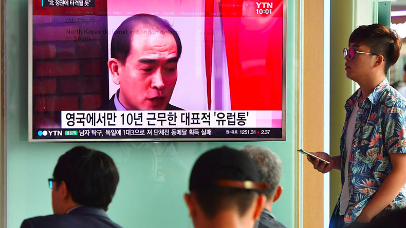 N. Korean diplomat defected because he was 'sick and tired of regime'...and London Congestion Charge