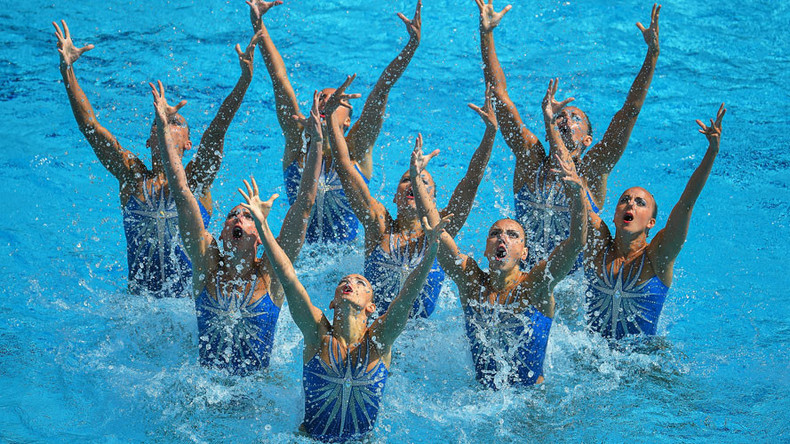 Russia's synchronized swimming team wins country's 13th gold in Rio
