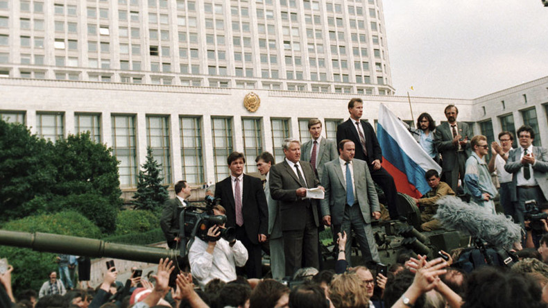 West remembers 1991 Soviet coup anniversary for all the wrong reasons