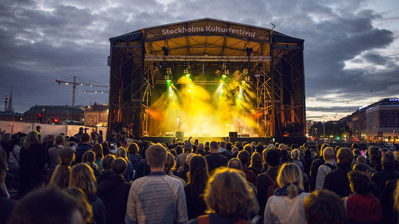 38 reports of sexual assault at music festival in Sweden