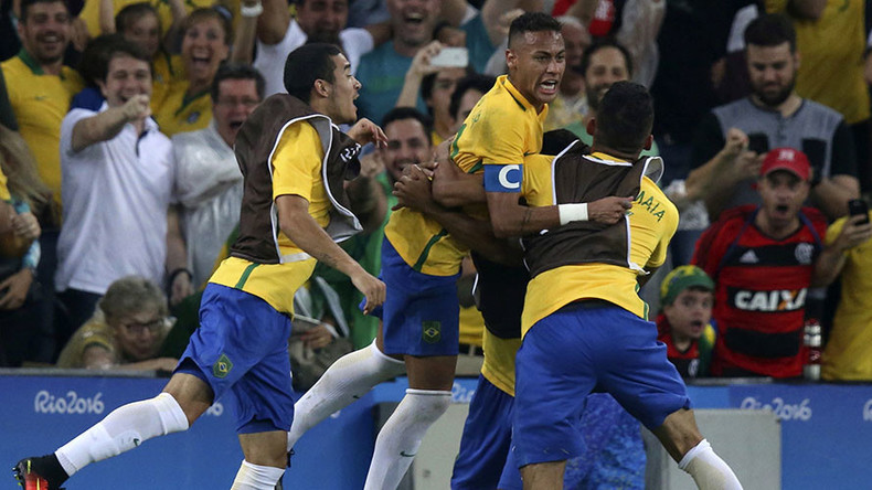 Neymar Brazil's hero as Olympic host wins football gold
