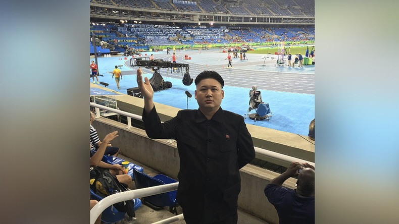 N. Korea leader's doppelganger at the Olympics & loving it (PHOTOS)