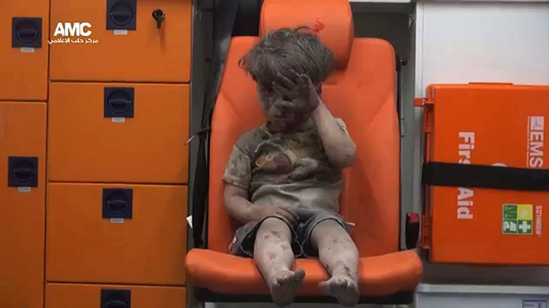 'Media activist who photographed 'Aleppo boy' applauds terrorist activity in Syria'