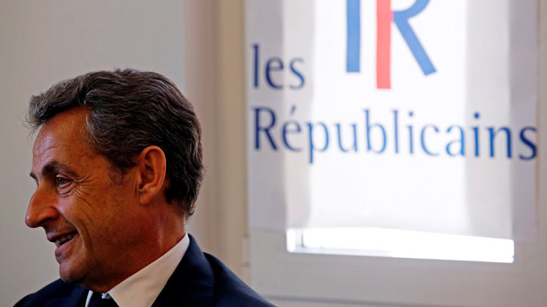 Sarkozy announces bid for French presidency
