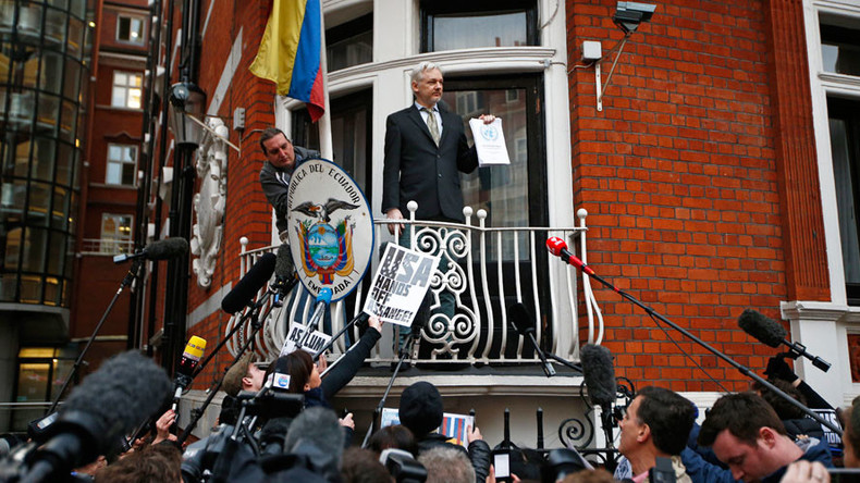 Ecuadorian Embassy break-in: Police took 2hrs to reach building where Assange is holed up