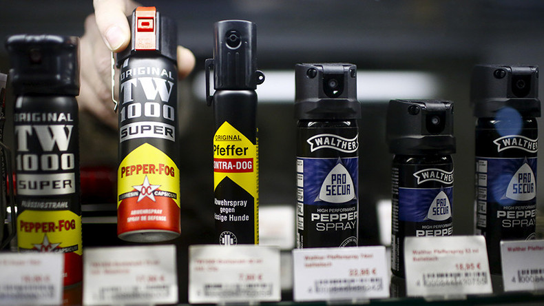 Pepper spray goes on sale at German drugstore chain 'at customers' request'