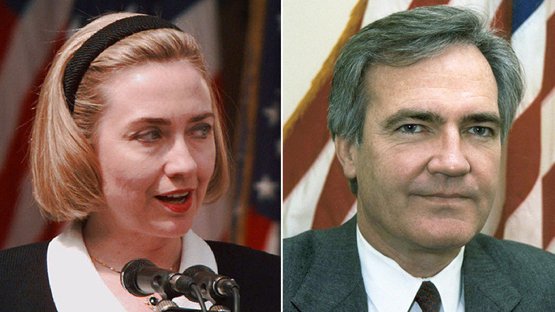 FBI docs linked to Hillary Clinton role in Vince Foster's suicide missing – report