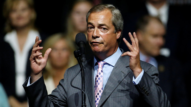 Ex-UKIP boss Nigel Farage vows return to frontline politics if Brexit isn't delivered