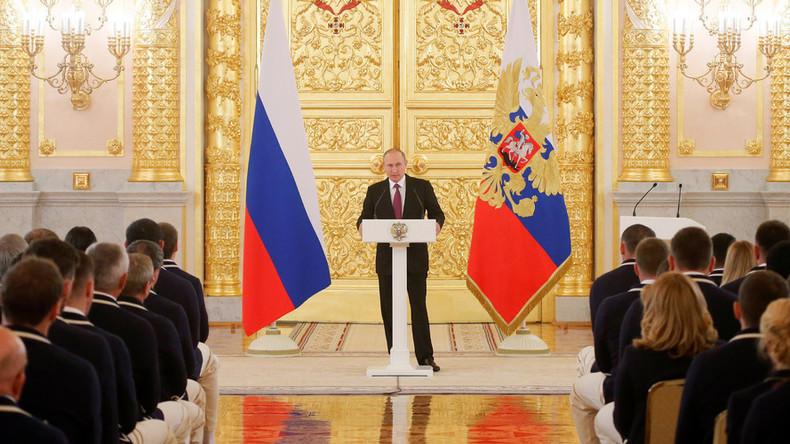 Putin: Russian Paralympic ban 'cynical & immoral'
