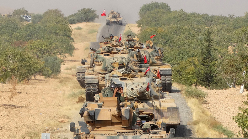 Turkish army shells Kurds 'refusing to retreat' near Jarablus – state media