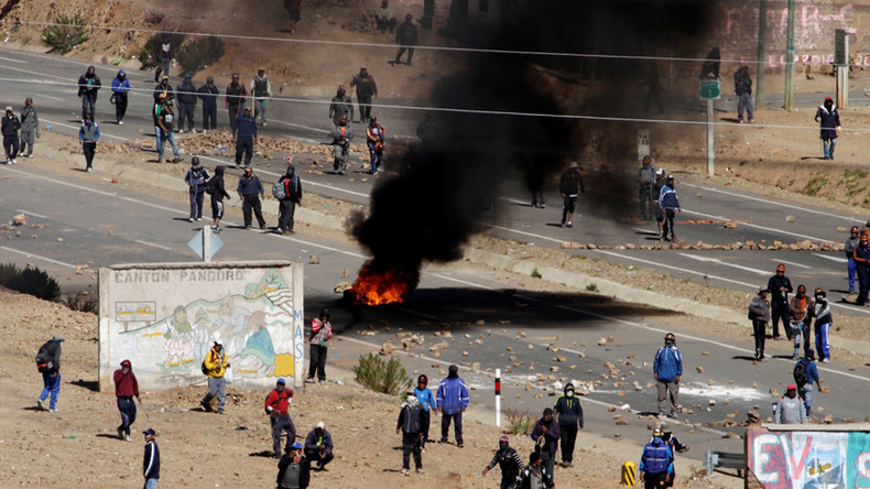 'Brutal and cowardly murder': Bolivia says minister beaten to death by striking miners