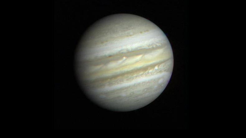 NASA's Juno spacecraft makes first close flyby of Jupiter